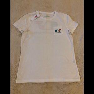 Vineyard Vines Women's SS Irish Flag SS Shirt S